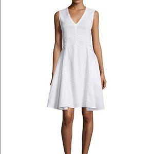 THEORY Kalsington Crunch Wash A-Line Dress Sz 10